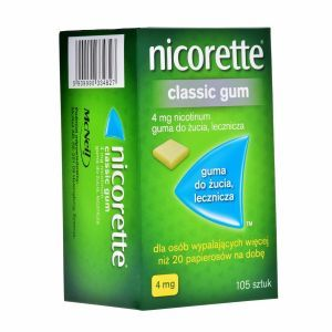 Nicorette 4 mg x 105 gum do żucia