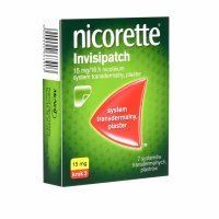 Nicorette invisipatch plastry 15 mg/16 h x 7 szt