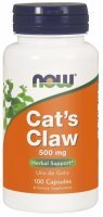 NOW Foods Cat's Claw 500 mg x 100 kaps