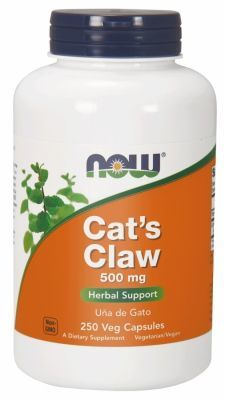 NOW Foods Cat's Claw 500 mg x 250 kaps