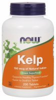 NOW Foods Kelp 150 mcg x 200 tabl