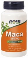 NOW Foods Maca 500 mg x 100 kaps
