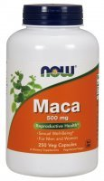 NOW Foods Maca 500 mg x 250 kaps
