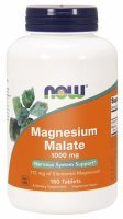 NOW Foods Magnesium Malate 1000 mg x 180 tabl
