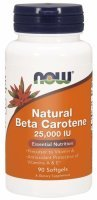 NOW Foods Natural Beta Carotene x 90 kaps