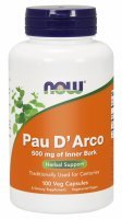 NOW Foods Pau D'Arco (La Pacho) 500 mg x 100 kaps