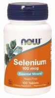 NOW Foods Selen 100 mcg  x 100 tabl