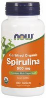 NOW Foods Spirulina 500 mg x 100 tabl