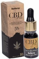 Olej z CBD 5% 10 ml (BeHemp)