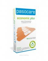 Plastry pasocare economic plus 25 x 72 mm x 100 szt