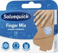 Plastry Salvequick Finger Mix x 18 szt