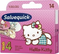 Plastry Salvequick Hello Kitty x 14 szt