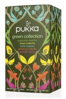 Pukka herbata Green Collection Bio x 20 sasz