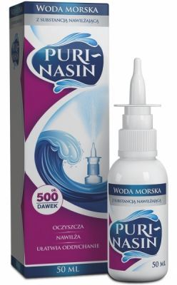 Purinasin woda morska 50 ml