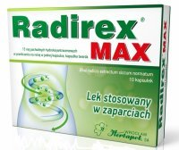 Radirex MAX 15 mg x 10 kaps
