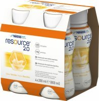 Resource 2.0 wanilia 4 x 200 ml