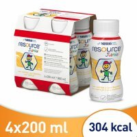 Resource Junior waniliowy 4 x 200 ml