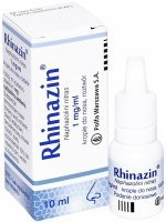 Rhinazin 0,1% krople do nosa 10 ml