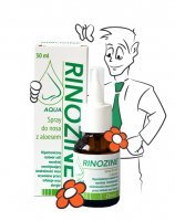 Rinozine AQUA spray do nosa z aloesem 30 ml