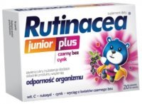 Rutinacea junior plus x 20 tabl do ssania