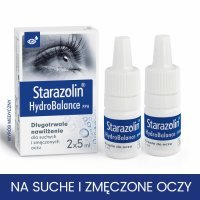 Starazolin HydroBalance PPH krople do oczu 2 x 5 ml