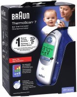 Termometr elektroniczny do ucha Braun ThermoScan 7