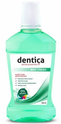 Tołpa dentica Mint Fresh płyn do higieny jamy ustnej 500 ml
