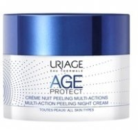 Uriage Age Protect peelingujący krem multiaction na noc 50 ml