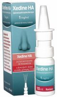 Xedine HA 1mg/ml aerozol do nosa 10 ml
